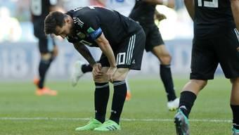 WM 2018: Impressionen zum Gruppenspiel Argentinien - Island