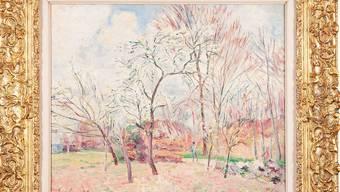 Alfred Sisley malte das Gemälde «Premier jour de printemps à Moret» 1889.