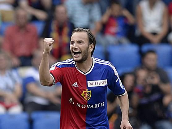 Vor dem Spiel als Torschützenkönig der letzten Saison geehrt, machte er so weiter: tolles Tor zum 2:0 und ein sehr engagierter Auftritt.
