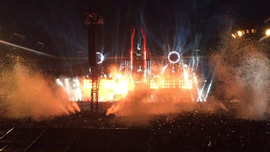 Rammstein begeistern Fans in Bern