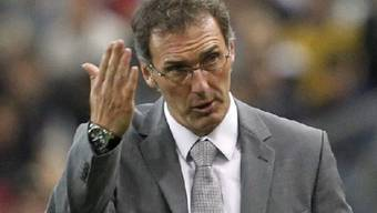 Frankreich mit Coach Laurent Blanc startete denkbar schlecht in dei EM-Kampagne