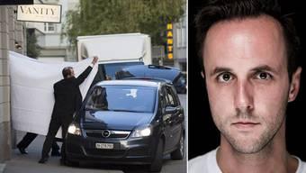 Fotograf Pascal Mora hat festgehalten, wie die Polizei die Fifa-Funktionäre abführt.