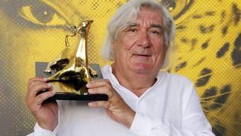 Jean-Claude Brisseau zeigt seinen Goldenen Leoparden