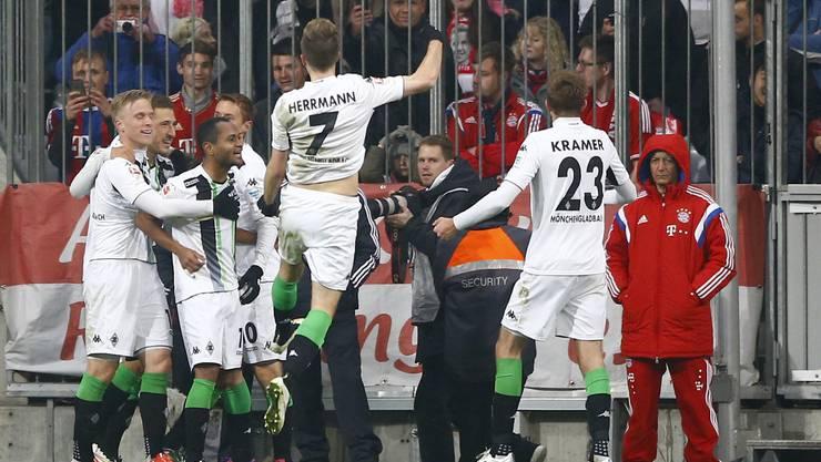 Gladbach schlägt überraschend die Bayern.