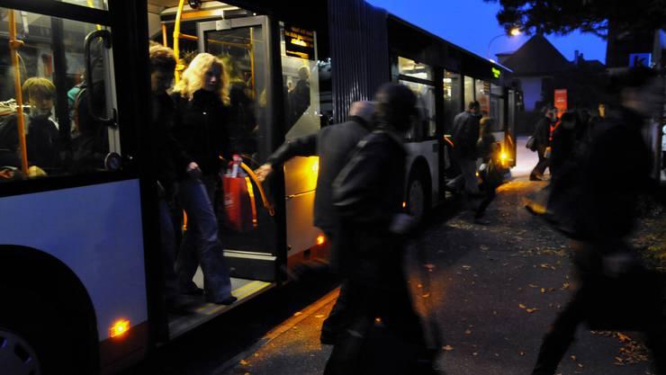 Nachtbus Lostorf: Pro Einwohner kostet dieses Angebot rund 2 Franken pro Jahr. (Symbolbild)