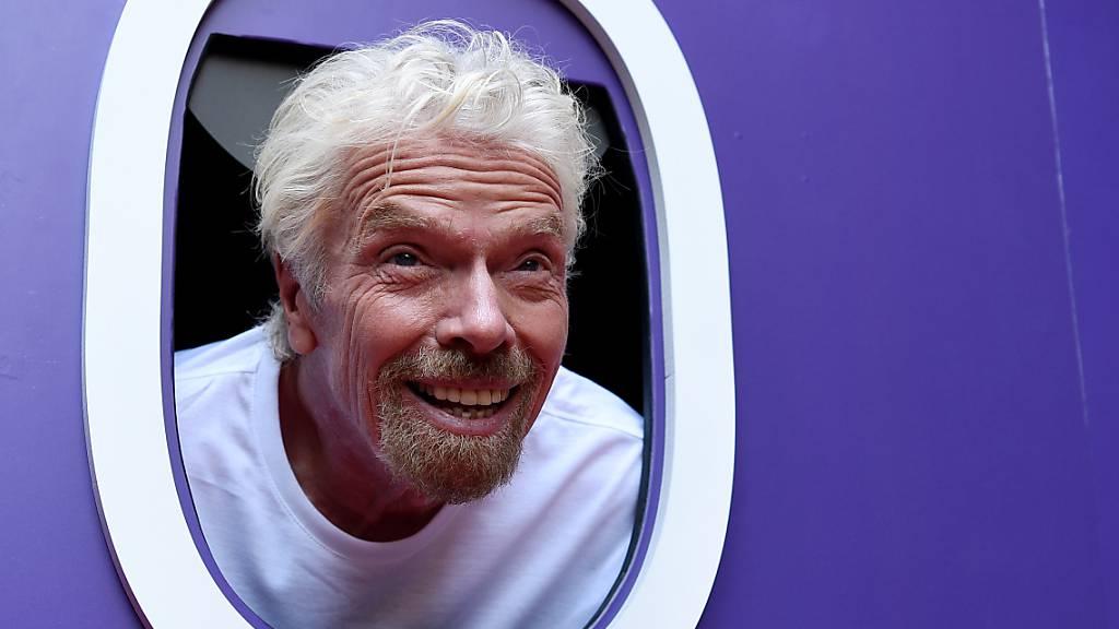 Wettlauf der Milliardäre: Branson will noch vor Bezos ins Weltall