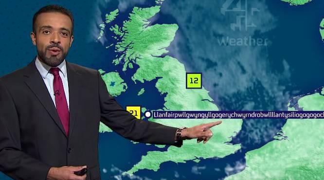 Respekt! Liam Dutton über das milde Klima in Llanfairpwllgwyngyllgogerychwyrndrobwllllantysiliogogogoch.