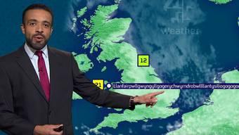 Diese Leistung verdient Respekt: Liam Dutton über das milde Klima in Llanfairpwllgwyngyllgogerychwyrndrobwllllantysiliogogogoch.