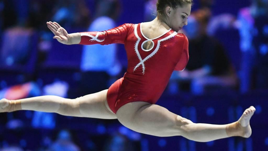 Giulia Steingruber macht mindestens bis zu den Olympischen Spielen 2021 in Tokio weiter