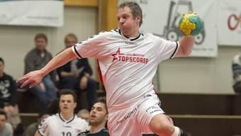 Beim 20:20 gegen Pfadi Winterthur erzielt BSV-Spieler Marco Kurth vier Treffer - alle mittels Penalty