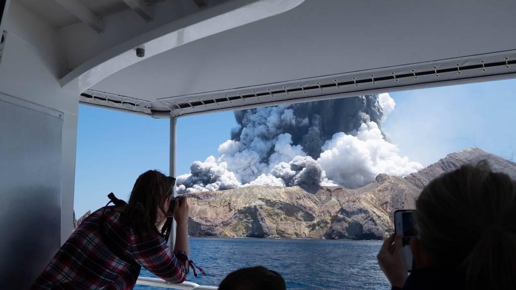Dutzend Tote bei Vulkanausbruch in Neuseeland