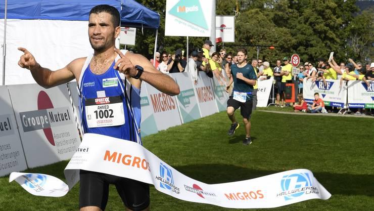 Sieger Ahmed El Jaddar.