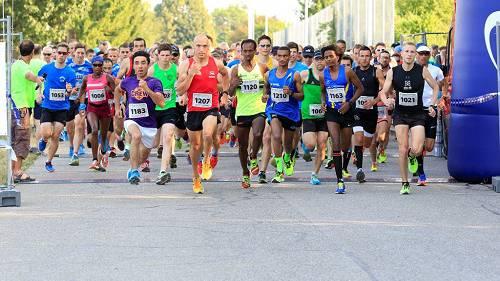Start zum 10 km-Lauf 2017