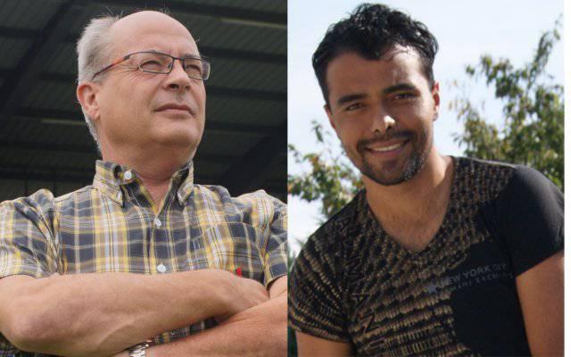 FC-Wohlen-Geschäftsführer Urs Bächer und sein ehemaliger Spieler Wellington haben das Heu nicht mehr auif der gleichen Bühne.