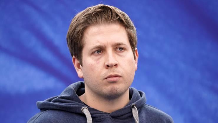 Kevin Kühnert, Chef der Jugendorganisation der SPD, sorgte mit sozialistischen Wunschvorstellungen für Aufruhr.
