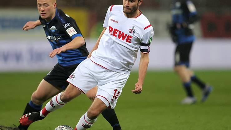 Köln-Captain Jonas Hector schiesst Paderborn weiter ins Elend