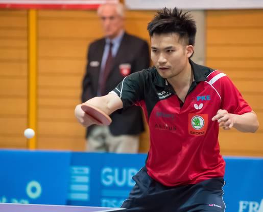 Chengbowen Yang in Aktion