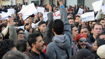 Demonstranten lassen sich nicht unterkriegen