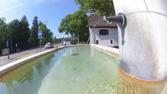 Sauberes und klares Wasser: Die Basler Brunnen sind heute nur noch Verzierung. Bis 1866 jedoch versorgten sie die Stadtbewohner mit Trinkwasser.