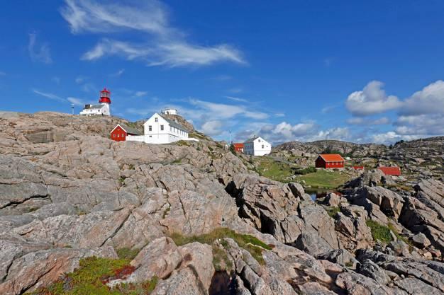 2518 Kilometer Luftlinie vom Südkap bis zum Nordkap, Lindesnes, Südkap