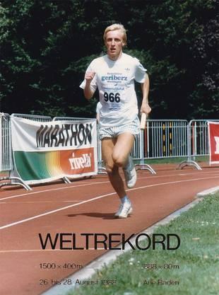 Nicht mehr auf Weltrekord-Kurs wie vor 30 Jahren in der Badener Aue, ...