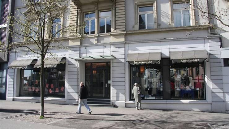 Bald ist die Ära Kneubühler an der Hauptbahnhofstrasse in Solothurn Geschichte.