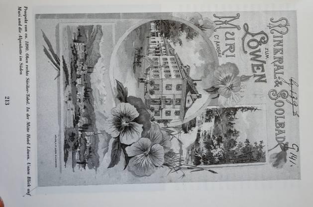 Prospekt von etwa 1890.