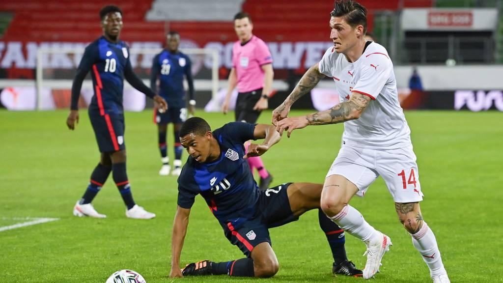 Schweiz gewinnt Testspiel gegen USA 2:1