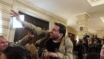 So attackierte der «Schuhwerfer von Bagdad» US-Präsident George W. Bush mit dem Werkzeug.