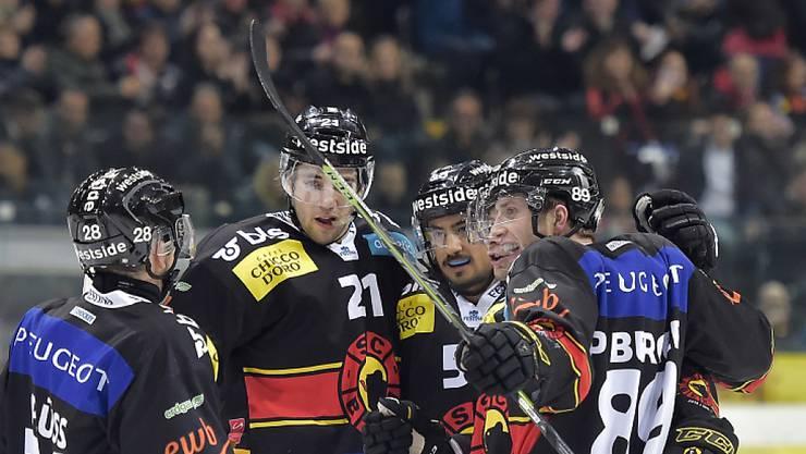 Die Berner gewannen das Kantonsderby gegen Biel