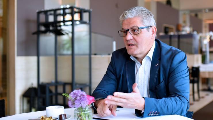 «Wir dürfen nun einfach nicht den Kopf in den Sand stecken.» Peter Oesch, Präsident «Gastro Solothurn» (Archiv)