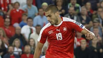 Der Schweizer Internationale Eren Derdiyok präsentiert sich bei Galatasaray ist Topform