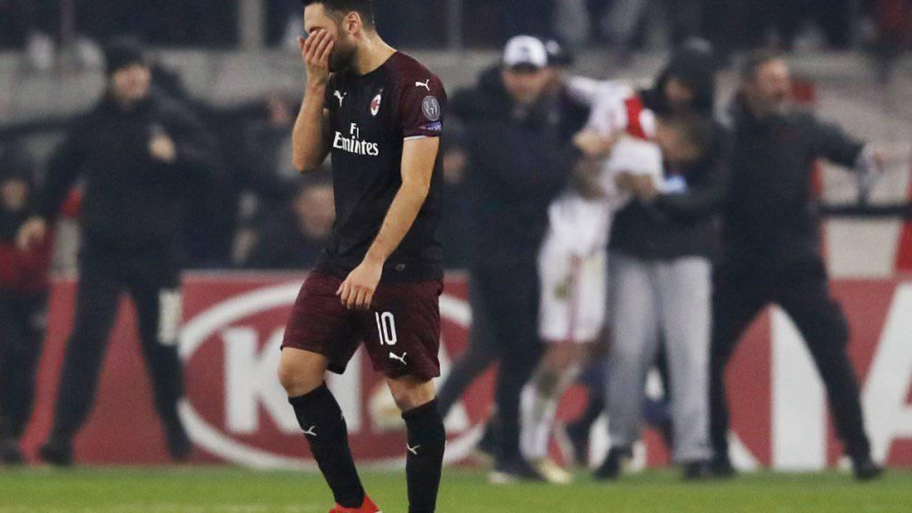 Milan kommt mit einem blauen Auge davon