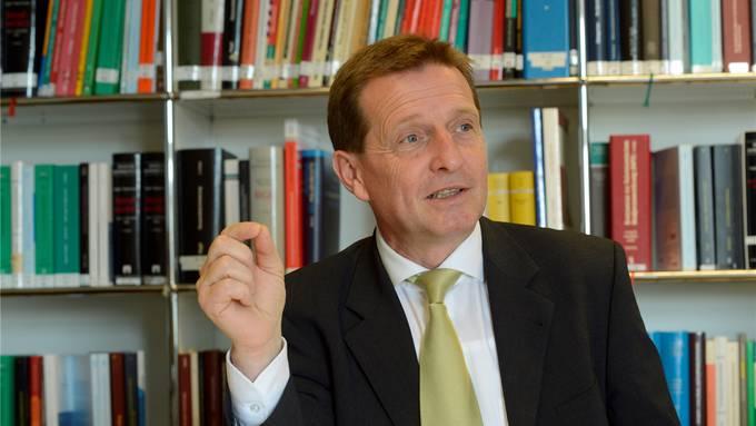 Der Solothurner Oberstaatsanwalt Hansjürg Brodbeck braucht mehr Personal.
