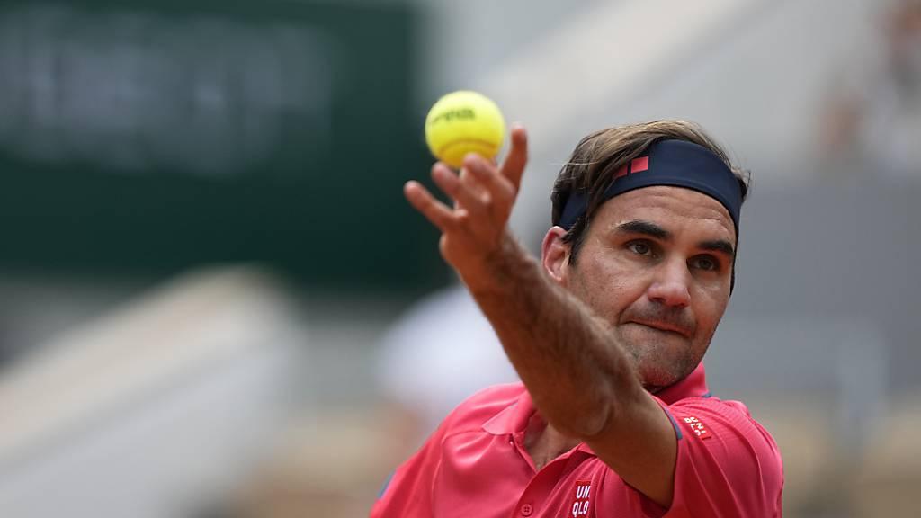 Roger Federer siegt zum Auftakt der Rasensaison
