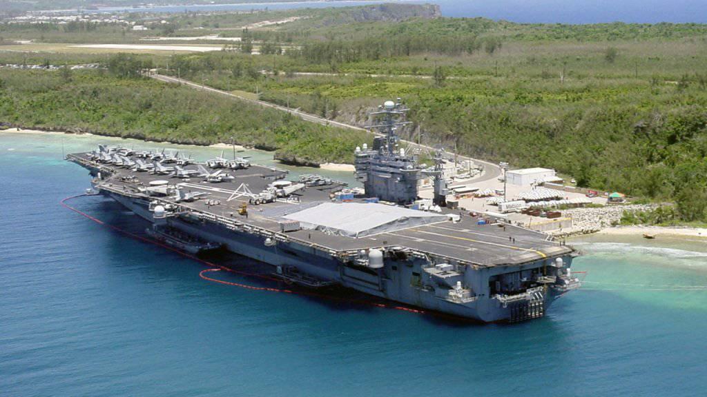 Nordkorea nimmt die US-Pazifikinsel Guam als mögliches Ziel für einen Raketenangriff ins Visier. (Archivbild)