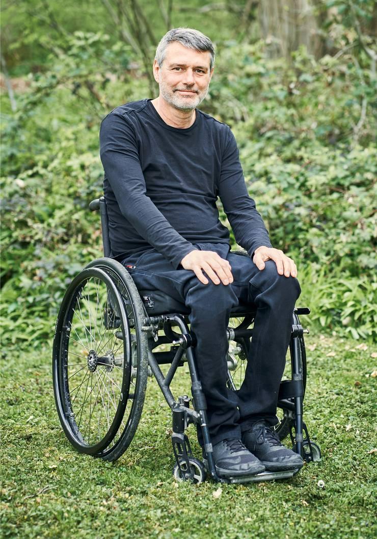 Ferdinand Pulver, genesen nach einem Motorradunfall