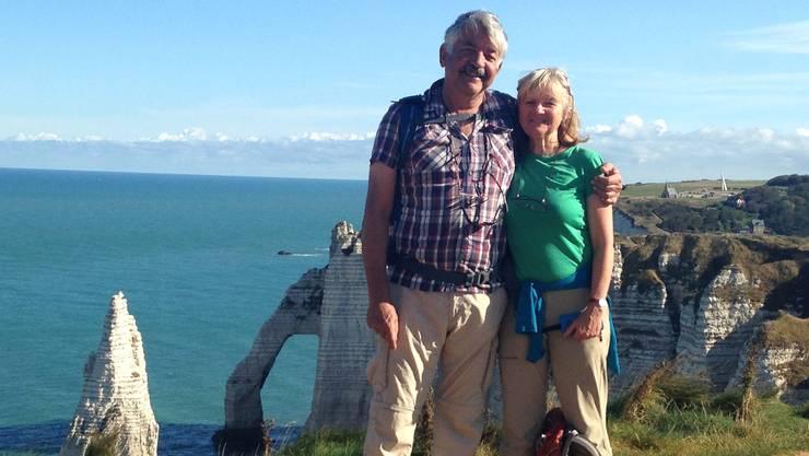 Rosmarie Wyss und ihr Partner Martin Pfister sind ein sogenanntes binationales Paar.
