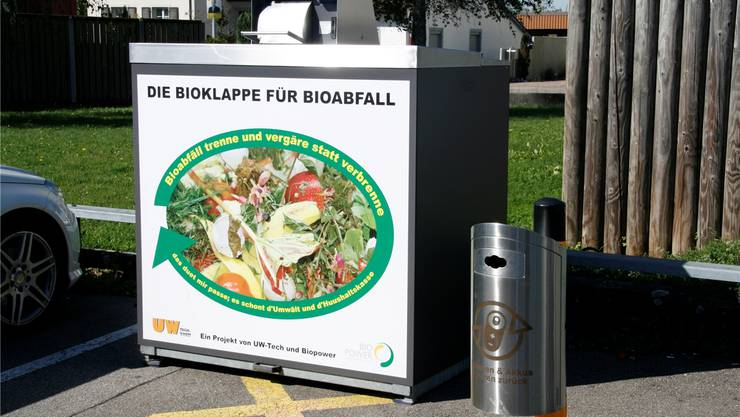 Beim Entsorgungsplatz Saalbau in Stein kann neu auch Biomüll entsorgt werden. Yvonne Zollinger