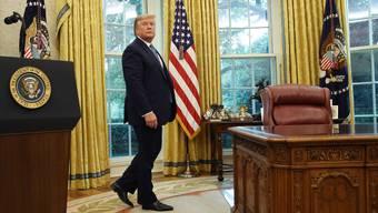 Diese Räumlichkeiten muss Donald Trump bald seinem Nachfolger Joe Biden übergeben: Das Oval Office.