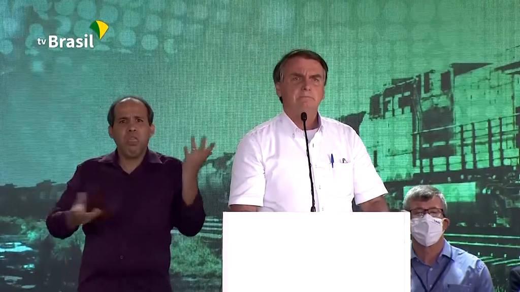 «Schluss mit dem Gejammere»: Bolsonaro kritisiert Corona-Massnahmen