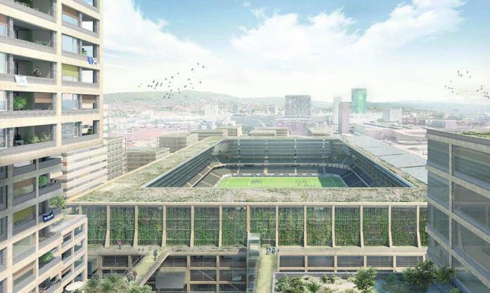 «Jalkapallo» wollte ein Stadion mitten im Wohngebiet.