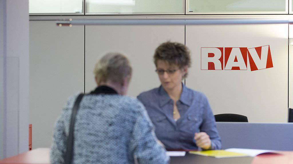 Die Arbeitslosigkeit hat sich in der Schweiz gegen Jahresende aufgrund saisonaler Effekte leicht erhöht. (Symbolbild)