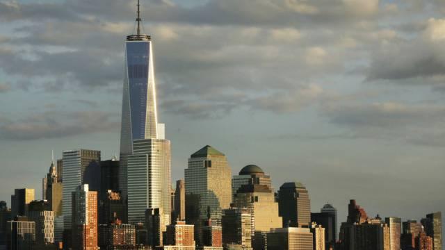 """Das """"One World Trade Center"""" überragt andere Wolkenkratzer (Archiv)"""