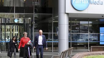 Weitere Grossfusion im Medienmarkt: Der australische Medienkonzern Fairfax Media will den TV-Betreiber Nine 4 Milliarden australische Dollar übernehmen. (Archiv)
