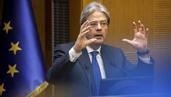 Kein Minister der Herzen: Italiens Premier Paolo Gentiloni gestern in Rom.