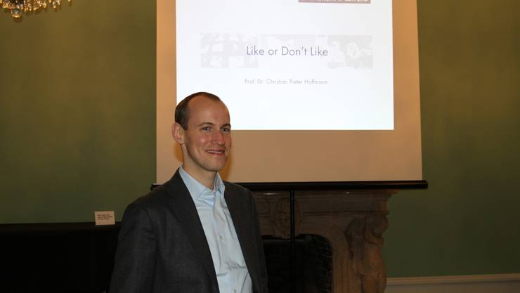 Prof. Dr. Christian Hoffmann von der Universität Leipzig