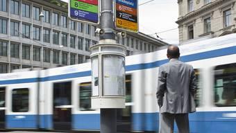 Tramunfall in Zürich (Symbolbild)