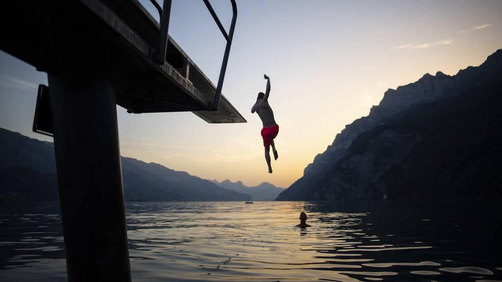 Badi, Bergsee oder Bach: Wo kühlst du dich ab?