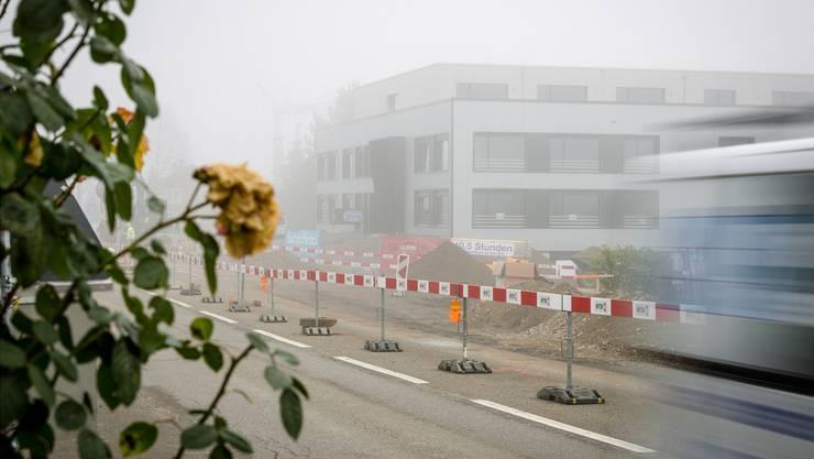 Das fünfstöckige Gewerbegebäude im Bodeächer 1 (Ortsteil Busslingen) ist nach über einem Jahr Bauzeit fertiggestellt. Sandra Ardizzone